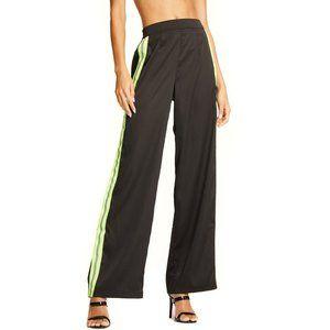 RARE NWT Neon green I AM GIA maxwell pant